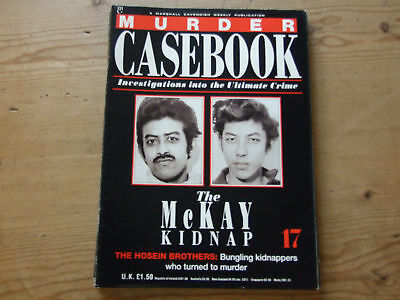 10 x Murder Casebook Magazines see listing for issue numbers Lot 2