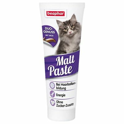 New - Cat Kitten - Beaphar Malt Paste For Fur Balls - Large - 250G