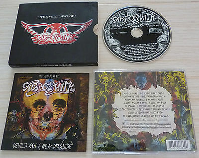 Cd Album Devil's Got A New Disguise The Very Best Of Aerosmith 18 Titres 2006