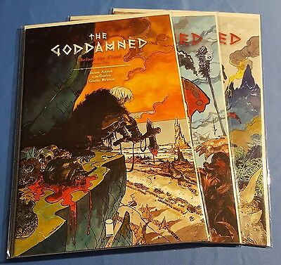The Goddamned #1-3 VF-NM Image Comics Uncertified