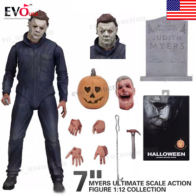 Halloween Michael Myers Ultimate Scale Action Figure 1:12 Collection 7""