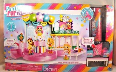 Party Popteenies Poptastic Party Playset Exclusive Doll Series 1