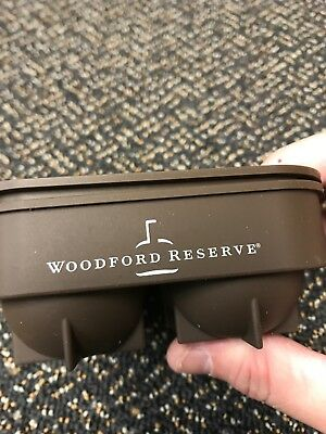 Woodford Reserve 2 Piece  Ball Ice Cube Tray 🥃