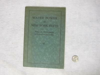Water Power in New York Development Hydro Electric 1926 PHOTOS