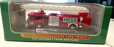 1999 Hess Mini Fire Truck! Never out of the box!