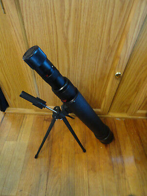 Jason Model 345 Table Top Attached Tripod Astronomical Telescope