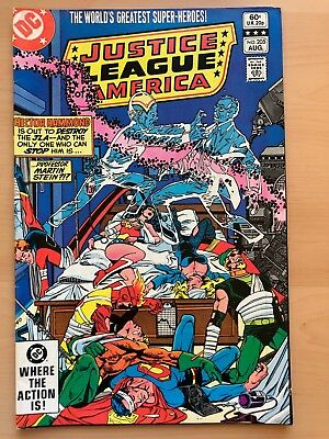 DC Comics: Justice League of America #205 – F Aug 1982  Gerry Conway, Don Heck