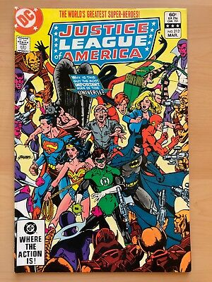 DC Comics: Justice League of America #212 – F Mar 1983 Gerry Conway Rich Buckler