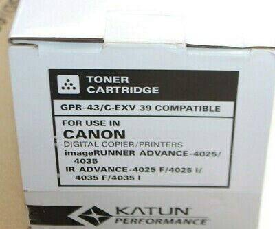 COMPATIBLE Katun GPR-24 Toner for Canon IR 5050  5055  5065  5075 NEW BD437