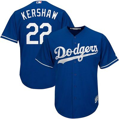 Neu Clayton Kershaw Los Angeles Dodgers Cool Base Herren MLB Baseball Trikot