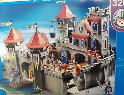 Playmobil 3268 Chateau Fort grand roi ritterburg  NEUF