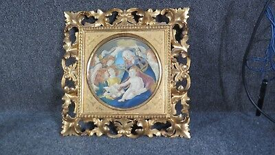 Antique Hand Carved Italian Frame