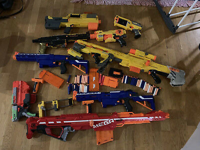 Nerf Gun Custom Bundle / Job Lot - Elite, Mega, Centurion, Longshot, Retaliator
