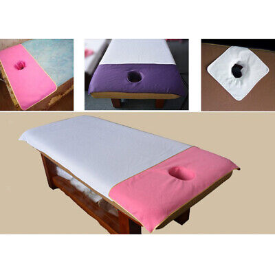 Acupuncture Massage Bed Tattoo Table Sheet Pad Mat Face Hole Reusable Washable