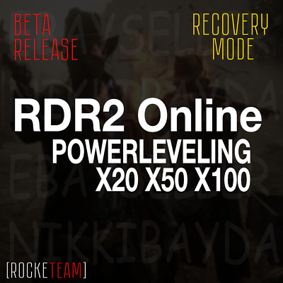 Red Dead Redemption 2 Online - Powerleveling - PS4 XBOX