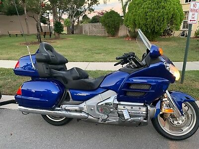 2001 Honda Gold Wing  2001 HONDA GL1800A1 GOLD WING ABS