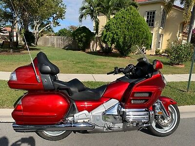 2008 Honda Gold Wing  2008 HONDA GL1800PM8 GOLDWING