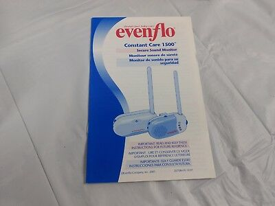 Evenflo Constant Care 1500 Secure Sound Baby Monitor