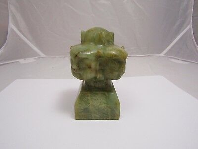 Nephrite? Jade? Hard Stone?  Stamp Seal Antique Asian Chinese