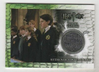 Harry Potter Heroes & Villains James Phelps as Fred Weasley Costume Card C1 /380