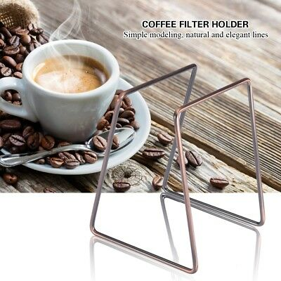 Stainless Filter Stand Coffee Dripper Rack Pour Over Drip Holder Manual Tool