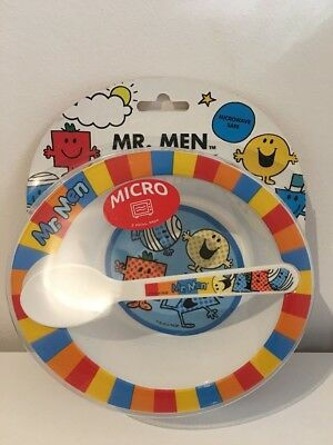 Mr Men Infant Feeding Set - Bowl And Spoon