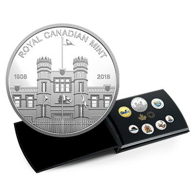 Canada 2018 Classic Canadian Coinage 7-Coin Mint Medallion Pure Silver Proof Set