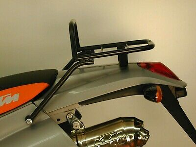 KTM LC4 640 ab Bj. 2000 Tube Topcasecarrier Black BY HEPCO AND BECKER