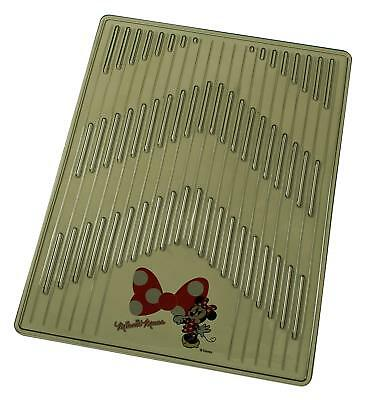 Minnie Mouse Car Floor Mat 450 x 600mm Smoke 6380-01SM from Japan