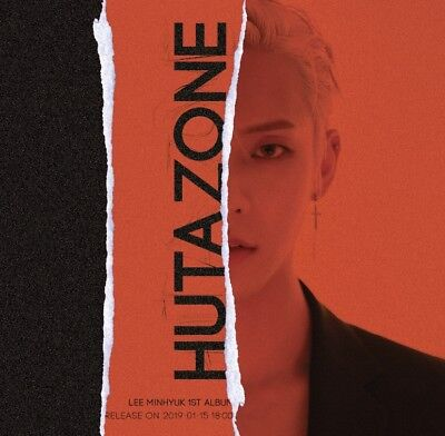 BTOB LEE MINHYUK [HUTAZONE] 1st Album CD+2ea Photo Book+3p Card K-POP SEALED