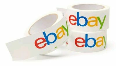 Classic - Official eBay Branded BOPP Packaging Tape - Shipping Supplies Packing