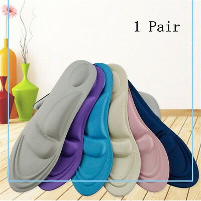 For Foot Care 4D Sponge Pain Relief Soft Insoles Arch Support high heel Walking