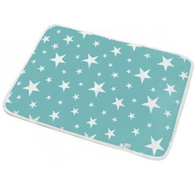 Baby Nappy Changing Pad Cotton Ecologic Diapers Cartoon Waterproof Mattress Bed
