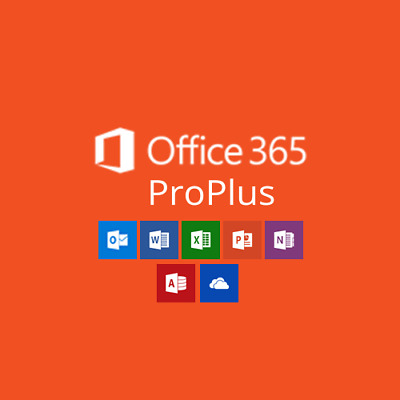 Microsoft Office 365 2019 Pro Plus PC/Mac 5TB User 1 Year INSTANT DELIVER