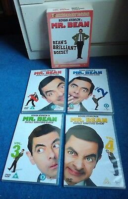 MR BEAN : Bean's Brilliant DVD Box Set - ANNIVERSARY EDITION 2010