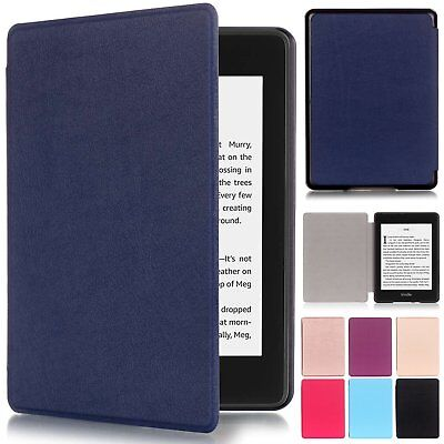 Slim Smart Leather Flip Magnetic Case Cover For Amazon Kindle Paperwhite 2018