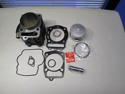 Honda Helix CN250 CH250 Scooter Motore Top End Cilindro Rebuild Kit con /