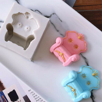 Sofa Chair Silicone Mold Cake Decorating Mold FondantCake Mold DiyBaking ToolsFO
