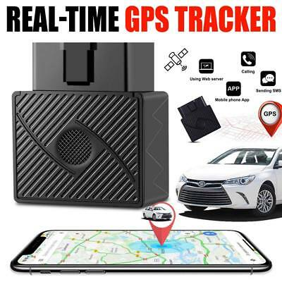 Car OBD GPS Tracker GSM SIM Realtime GPRS Vehicle Tracking Security Device US