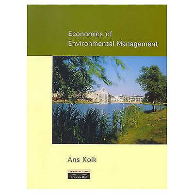 Economics of Environmental Management, Kolk, Dr Ans, Used; Good Book