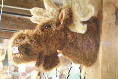 Fabulous Faux Moose Mount Head Made in the USA!