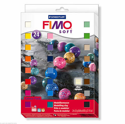 Staedtler - Fimo Soft Half Block Set 24 pieces