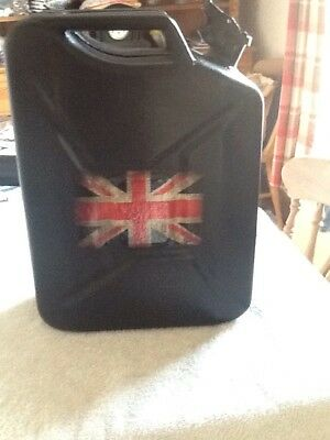 Unusual Union Jack Jerry Can