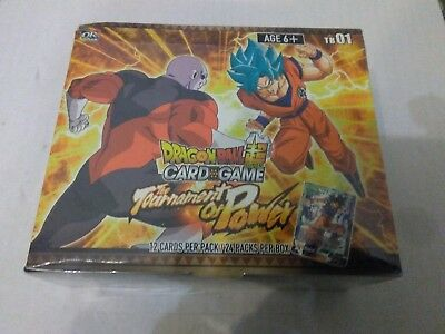 Dragon Ball Super Card Game Themed Booster TB01 Tournament Of Power Booster Box