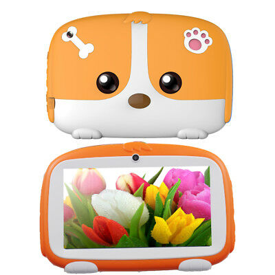 8GB Quad Core 7 Inch Kids Tablet PC Android 6.0 WiFi Dual Camera HD Bundle Case