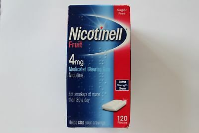 NICOTINELL FRUIT 4mg Chewing Gum X 120 Pieces