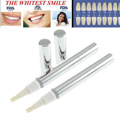 2 Pens Extra Strong Teeth Tooth Whitening Pen Bleaching System Oral Care Uk Gift
