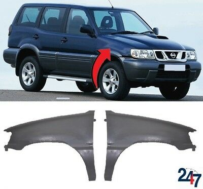 New Nissan Terrano Ii 1999 - 2002 Fibreglass Front Wing Fender Left Right Pair