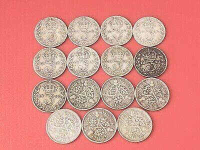 GB George V Silver Threepence 1912 - 1936 Pick Your Year FREE UK P&P