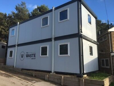 2 x Modular Building, Portable Cabin, Office, Marketing Suite, Showroom